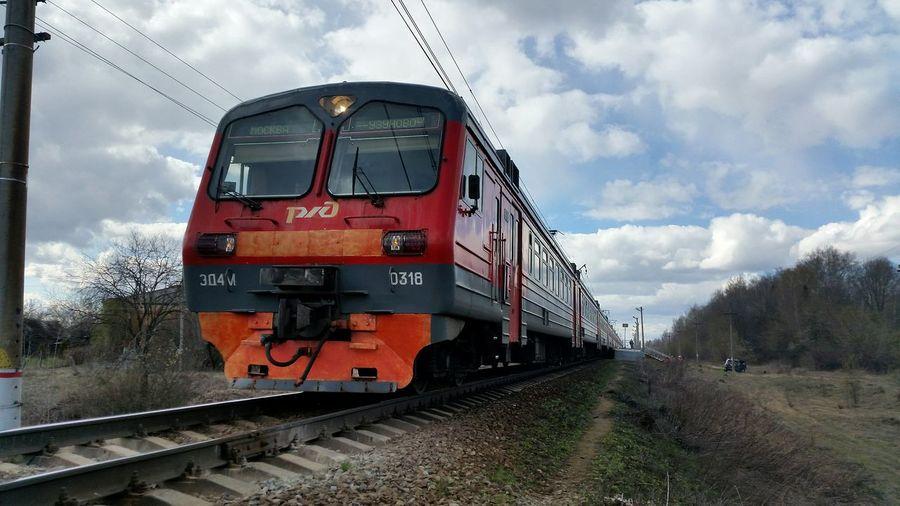 РЖД поезд Railway Train электричка Photo Photography Spring