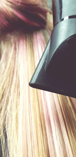 Hairapy Cotton Candy Pink Blonde And Pink Hair Close-up Shot Good Hair Day Blowout Beauty Confidence  Confident  Sweet Sixteen Birthday Hair, Don't Care Bucket List Salon Straight Hair Pale Pink Hair Pastel Pink Hair Hair Trends