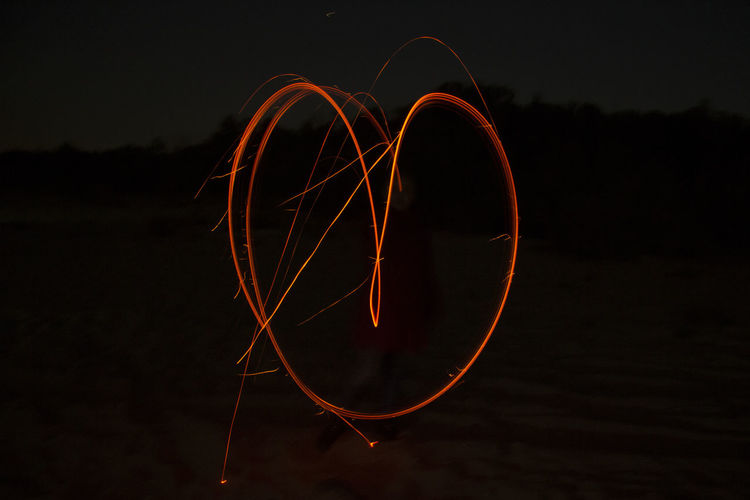 Drawing Fire Firedrawing Heart Shape Love Nature Night Outdoors Popular Photos Taking Photos