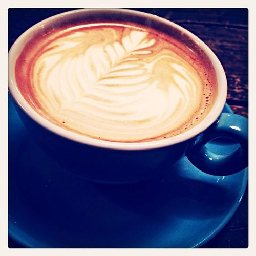 My favorite cup of Cafe Latte @ Northteapower Manchester