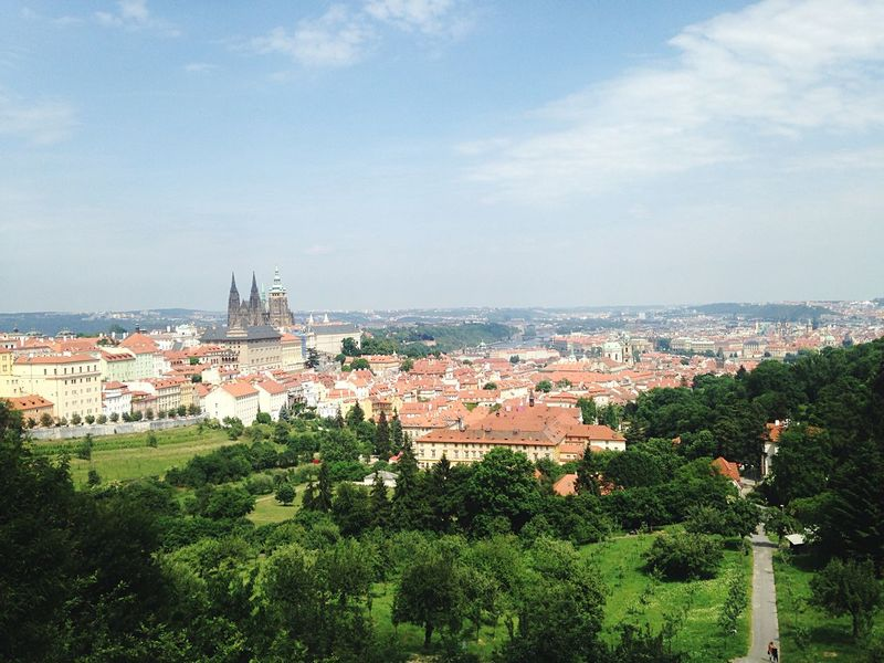 Prague City City View  Rooftops Scenic Lookout Skyline Cityscapes Landscape Landscape_Collection