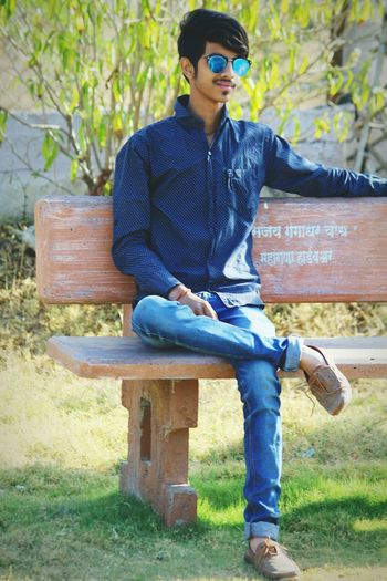 Sitting Casual Clothing Jeans Outdoors Eyeglasses  Human Body Part Nature
