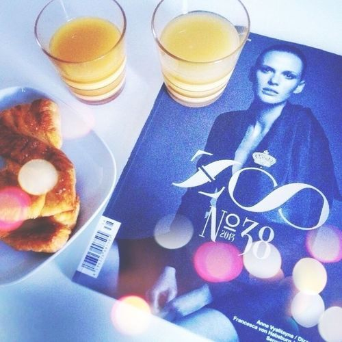 breakfast with zoo magazine! Breakfast Fashion