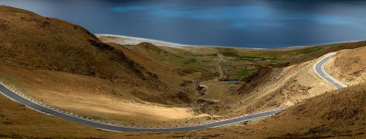 Day Landscape Nature No People Outdoors Sand Sand Dune Scenics Winding Road