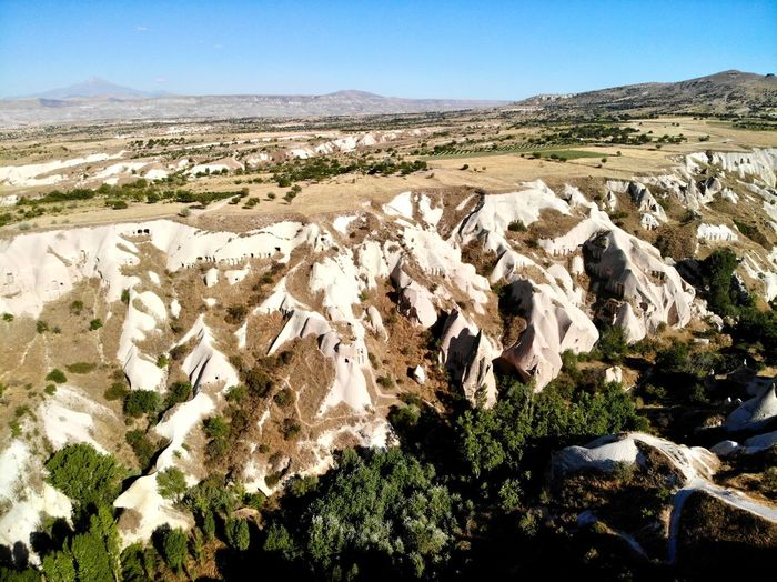 DJI X Eyeem Capadocia Dronephotography Kapadokya Turkey DJI Mavic Air Drone  Capadocia Dronephotography Kapadokya Turkey DJI Mavic Air Drone  No People Nature Rock - Object Day Environment Tranquil Scene Beauty In Nature Scenics - Nature Landscape Non-urban Scene Land Mountain Rock Formation Rock Remote Tranquility Sky