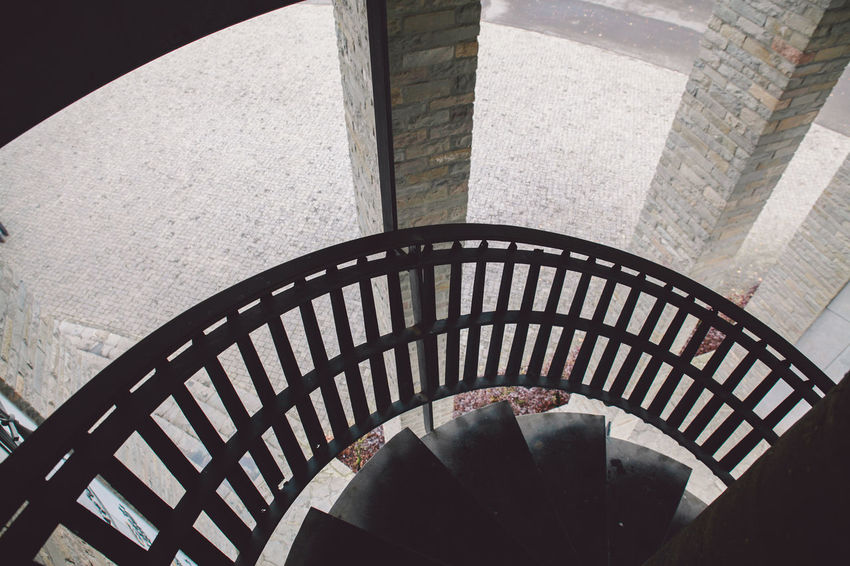 Architecture Bastogne War Museum Building Exterior Built Structure Close-up Day Indoors  Museum No People Pattern Spiral Staircase Staircase Steps Steps And Staircases World War II WWII