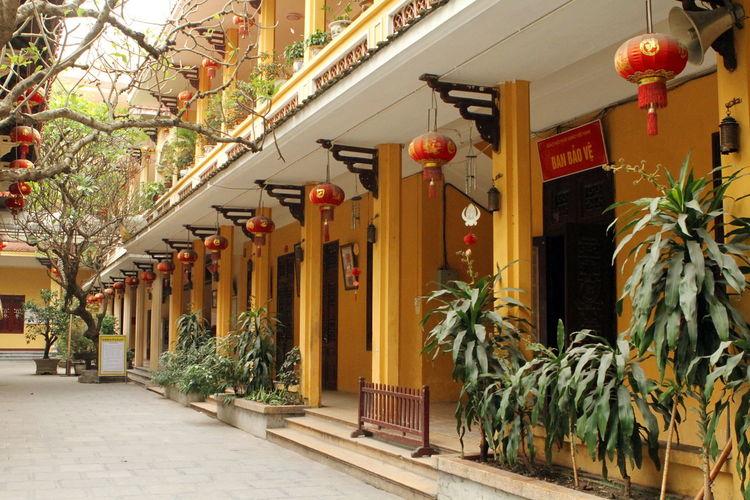 Quan su temple. Hn. Vietnam