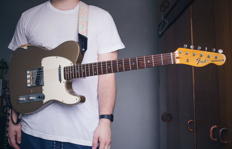 Fender Telecaster Fender Telecaster Guitar Guitarist Vintage Rock Math Rock Indie Shoegaze Pedal Pedalboard Pedals Arts Culture And Entertainment Playing Music Love Canon60d Brazil São Paulo Rock Music Musical Instrument Electric Guitar Performance Holding