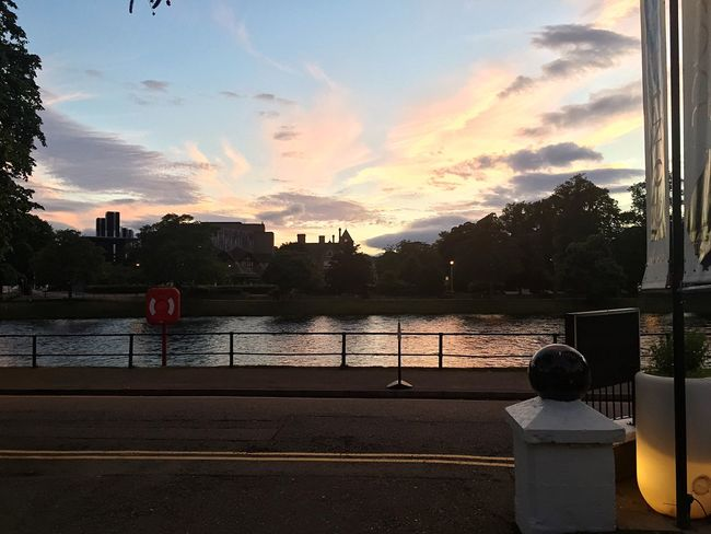 Outdoors Waterfront River Sunset No People Built Structure Tree Tranquil Scene Scenics Water Building Exterior Caledonian Canal