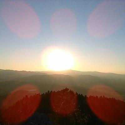 Sun setting from on top of MtHelena Summer Bucketlist Nofilter