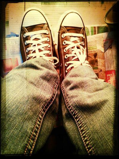 Converse vintage...
