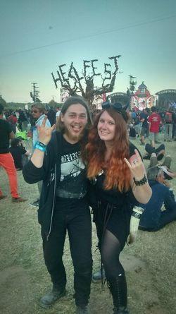 Hellfest Hellfest2015 Metalgirl Horns Music Metalhead Amazing
