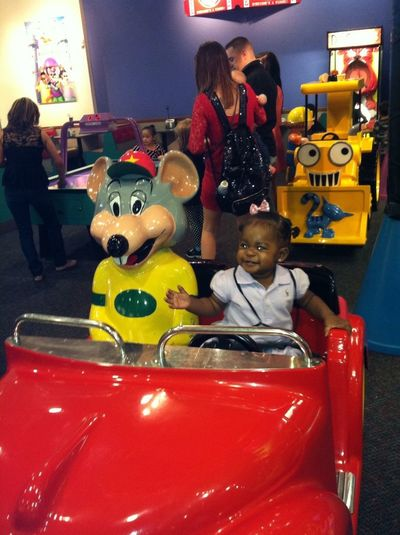 Lol My Baby Havin Fun!
