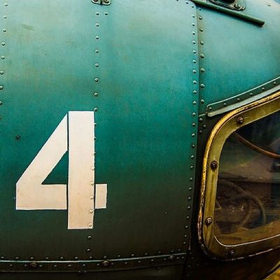 I am number 4 Helicopter Tudm Museum Helicopter Aircraft Old Rusty