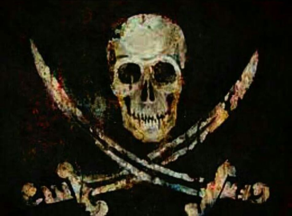 Jolly Roger Skull Abstract Digital Art Photography Check This Out Gothic Photo Dark Art Creativity EyeEmNewHere