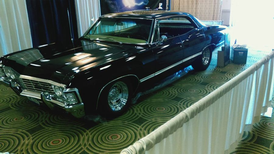 The car from Supernatuarl at Omni Expo 2016