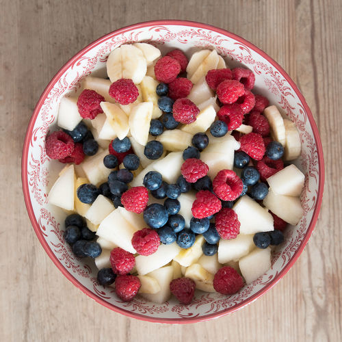Fresh fruit salad Berry Fruit Blueberry Delicious Dessert Food Food And Drink Freshness Fruit Fruit Salad Healthy Healthy Eating Raspberry Raw Food Still Life Sweet Sweet Food My Favorite Breakfast Moment
