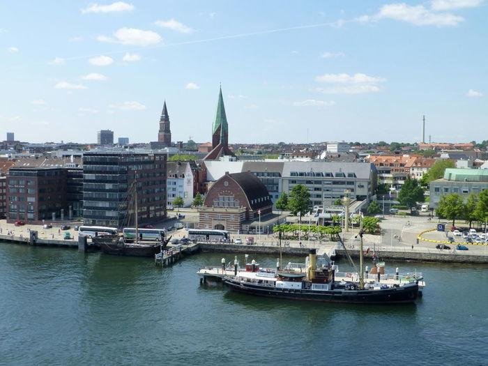 Kiel City Kieler Förde Kiel