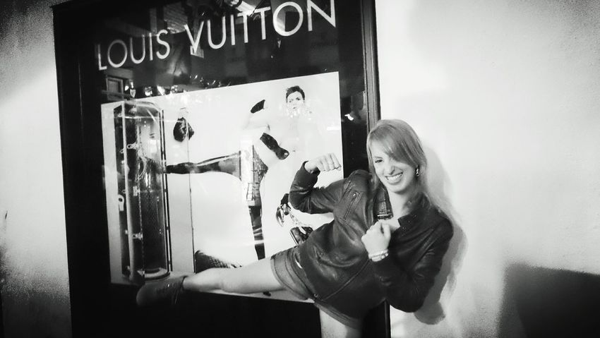 Kickin It Blackandwhite Photography People Of EyeEm Faces Of EyeEm Louis Vuitton Rock'n'Roll Playhardworkhard Ring