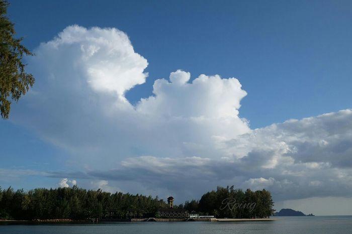 Hi! Enjoying Life Relaxing That's Me Fuji Xt10 Sky_collection Heart View Sea