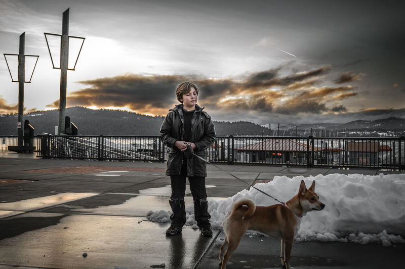 Coeur D'Alene HDR NIKON D5300 Pier Shiba Inu Sunset_collection Animal Themes Boy With Dog Cloud - Sky Day Dog Lake Leash Lifestyles Looking At Camera Nature One Animal One Person Pet Pets Portrait Sunset Walking Dog Young Adult Young Boy Shades Of Winter EyeEmNewHere Love Yourself