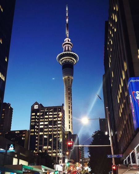 Architecture Building Exterior Night Low Angle View City Travel Destinations Built Structure Tower