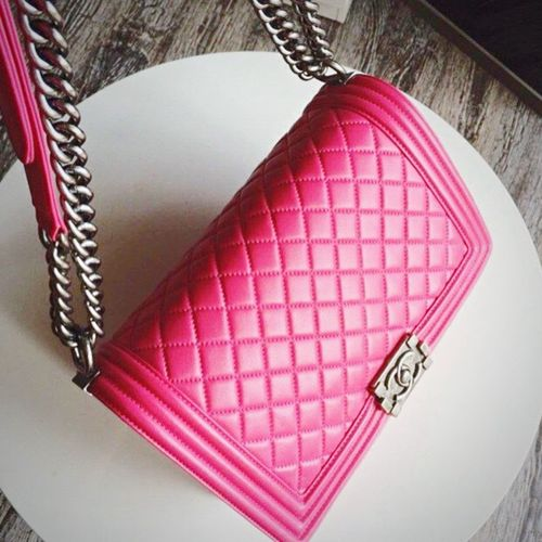 New baby💕 Chanel Chanelbag Pink