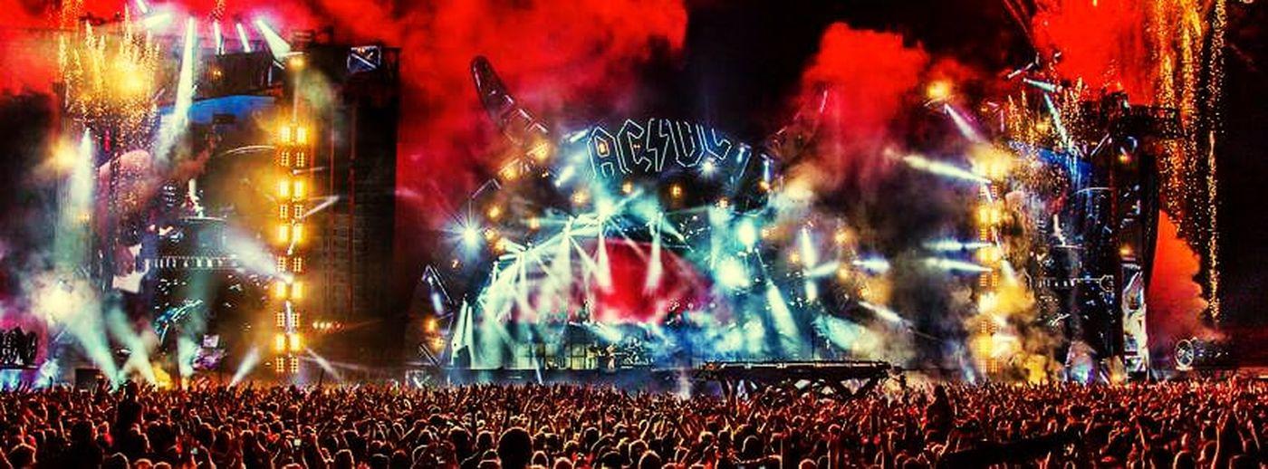 AC/DC Hardrock Concert Fuckingmoment Music Festival Happy :)