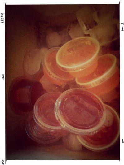 Jello Shots ^_^ Delicious!! :D