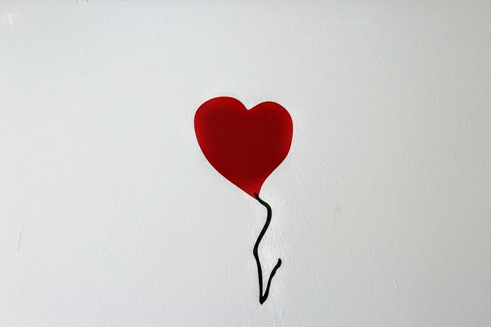 Heart Shape Valentine's Day - Holiday Love Heart Bansky Romance Red Studio Shot White Background No People Candy Relationship Difficulties Close-up Indoors  Candy Heart Popular