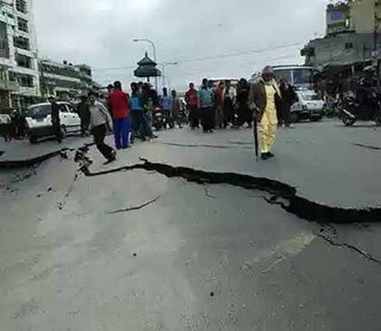 Earthquake Freeky Lucknow Nonetwork