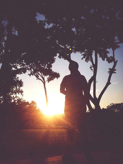 Workout Sunset