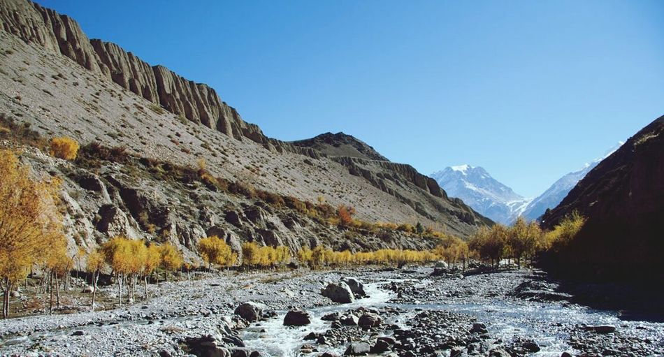 Kagbeni Nepal Himalayas Landscape