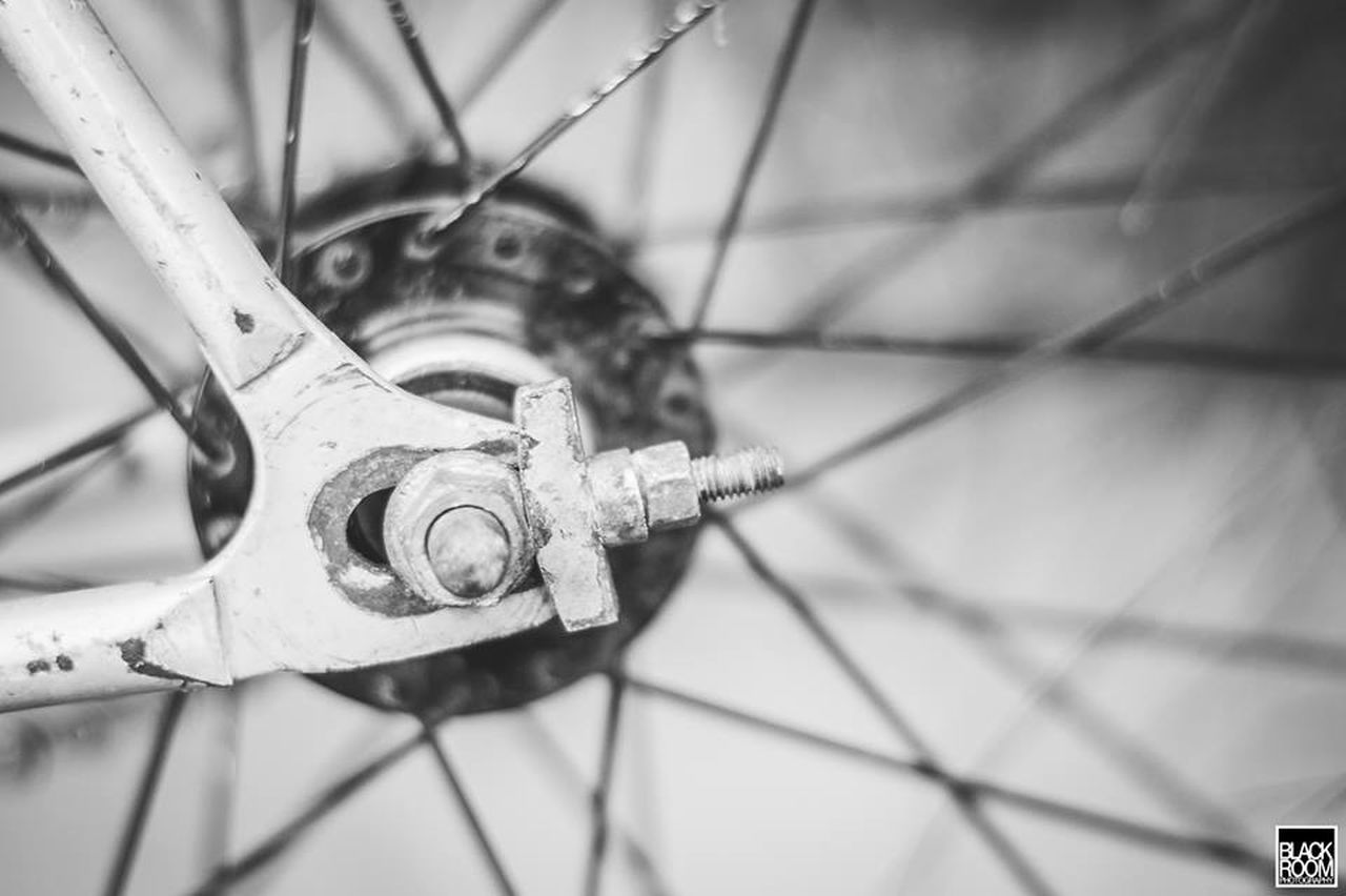 spoke, wheel, bicycle, transportation, close-up, no people, day, outdoors, gear, tire
