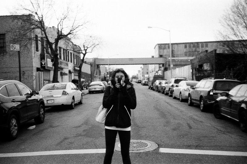 NYC Blackandwhite Brooklyn Girl Film NYC 35mm Youth First Eyeem Photo