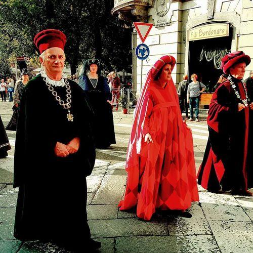 Vercelli Sfilata Costume Costumi  Storia Storico History Historic