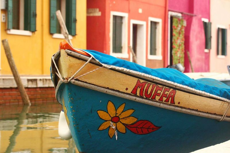 Colorful boat