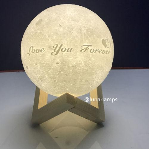 Gift idear - Moon Lamp Beautiful Fashion Funny Lovers Moon Bedroomdecor Homedecor Moon Lamp Moonlover Valentinegift