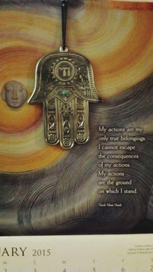 February2015 Art Hamsa Hand Wordsofwisdom Tao