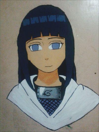 Asi quedo!! HyugaHinata Hinata Anime Naruto Shippuden  Konoha Vscocam VSCO Paint Draw