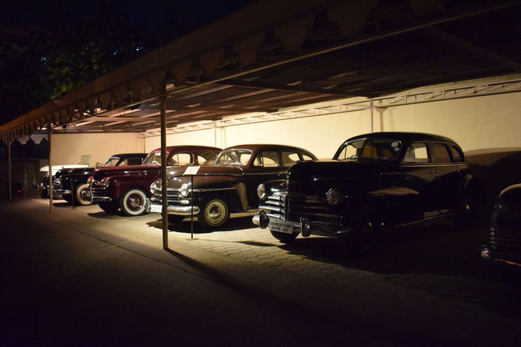 American Cars Vintage Car Land Vehicle Night No People Old Cars Outdoors Th 30 Transportation