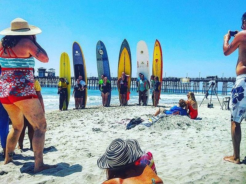 Longboarders Oceanside Summer Photoopp SoCal Riderschannel