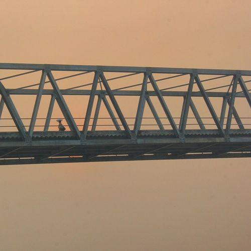 Seorang Ibu berjalan di atas jembatan Besi yang kokoh, jembatan panjang -+700m. Pagi itu jam 06.05 menanti kendaraan yang menjemput. Dari gambar ini berjuta-juta cerita dan manfaat yang dapat kita ambil jika kita memahaminya dengan hati. Ketangguhan sosok wanita Kegigihan ia untuk anak dan keluarga Tak sebanding dengan apapun Semua tidak d ukur dengan hasil Tapi d ukur dengan kepuasan hati dan batin Kartini Inhil Tembilahan Keritang Reteh Telukpinang Sungaiguntung Kualaenok Harapan Slensen Keritanghulu Pulauburung Canonid Belajarfotografi Kameramenamatir Fotograferidr Jembatan Sungaigergaji Ibu Instapeople Instariau