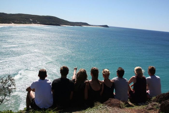 Travelling Life Is A Beach Enjoying Life Hello World no filter, fraser island, best group ever, thank you guys!