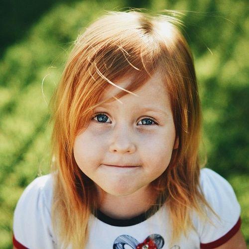 Russia Novorossiysk Children Ginger Spring