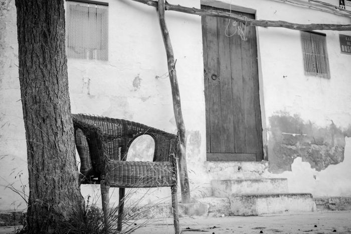 Chair Built Structure Architecture Day No People Outdoors Mallorca (Spain) Mallorcaphotographer Manuelkiese Mallorcaisland