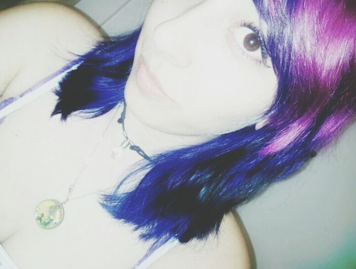 Throwbackthursday  Thats Me  Rainbowhair i miss my rainbow!