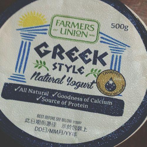 On A Health Kick like a boss Greekyogurt