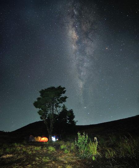 Milky way view