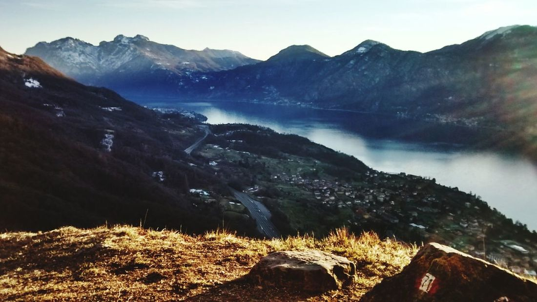 Mountain Sunrise In Lecco Colors Sky And City Nature EyeEm Nature Lover